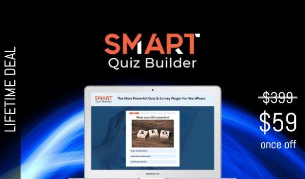Buy Software Apps Smart Quiz Builder Lifetime Deal header