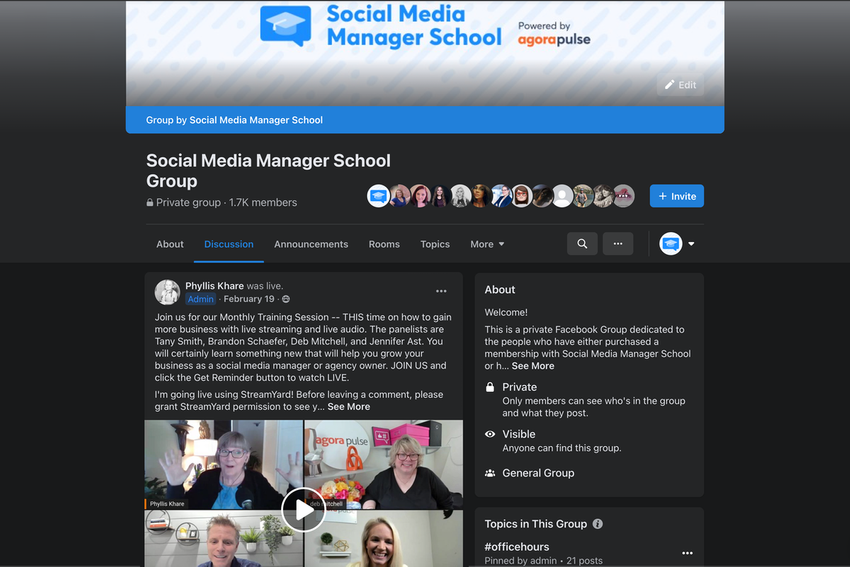 Buy Software Apps Social Media Manager School Lifetime Deal content 4