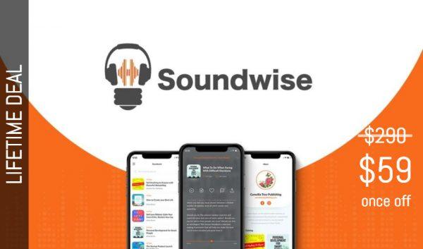Buy Software Apps Soundwise Lifetime Deal header