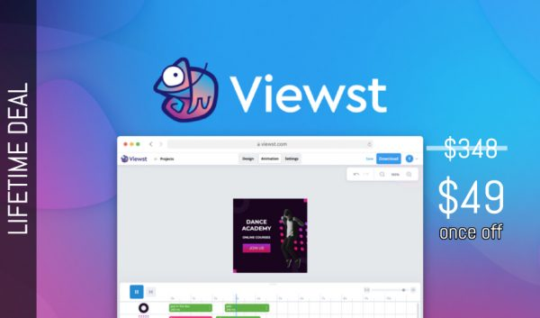 Buy Software Apps Viewst Lifetime Deal header