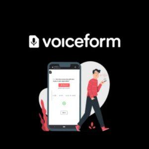 Buy Software Apps Voiceform Lifetime Deal header 1