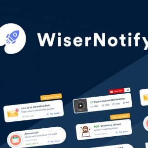 Buy Software Apps WiserNotify Lifetime Deal header