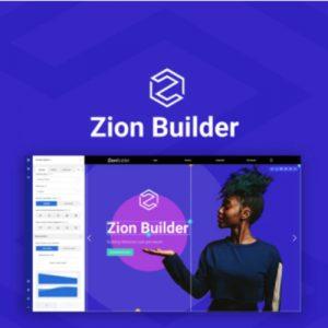 Buy Software Apps Zion Builder Lifetime Deal header