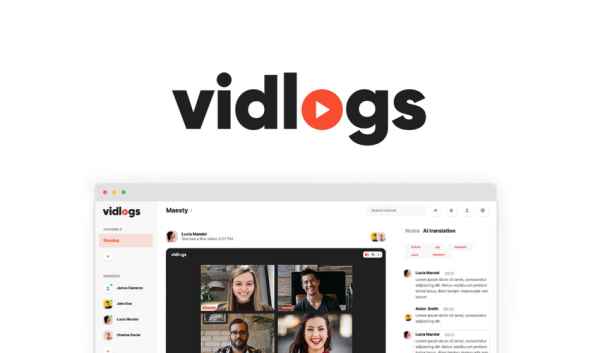 Buy Software Apps vidlogs Lifetime Deal header